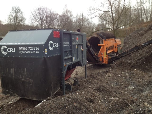 Ecohog windshifter squashes rising landfill tax levies for disposal of trommel fines