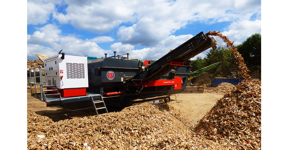 Eriez Europe unite with equipment manufacturer Ecohog Ltd cleaning up the Mobile Eddy Current Market.