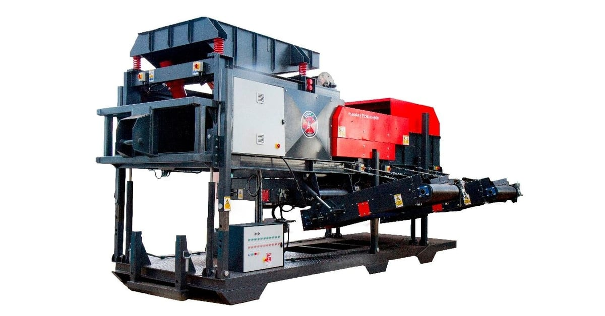The HogMag Eddy Current Separator - Metal recovery with ease