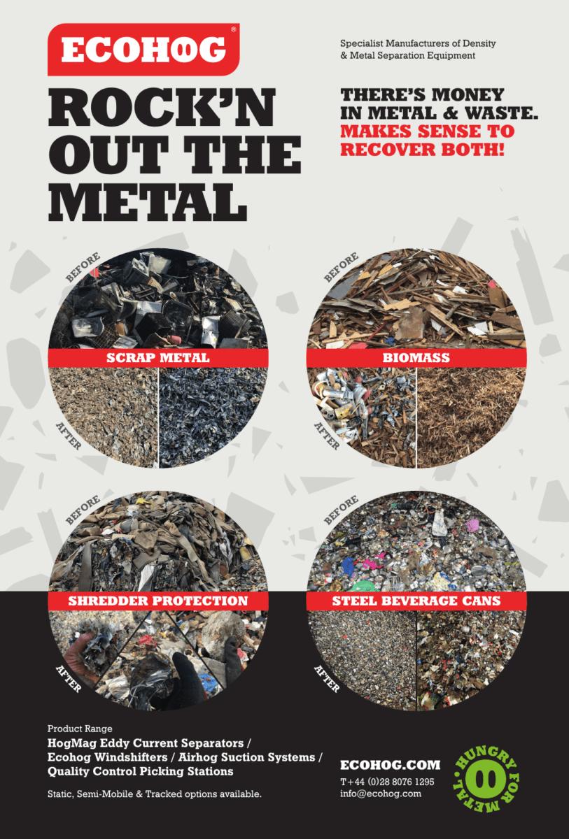 Money in metal, money in waste